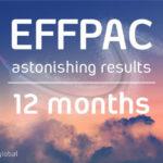 EFFPAC astonishing results