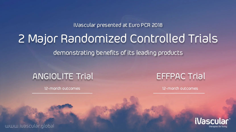 Angiolite trial and EFFPAC trial